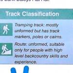 Tramping track vs route, une terminologie trompeuse