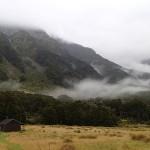 L'ancienne et la nouvelle Top Forks Hut (620m)