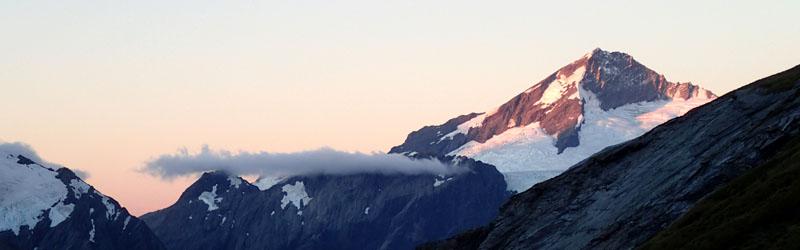 Le photogénique Mont Aspiring (3033m)