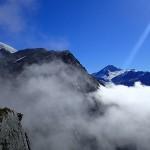 Au centre, le Mont Aspiring (3033m)