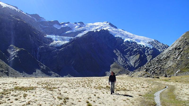 Les glaciers Hesse et Marshall fondations du Mont Edward (2620m)