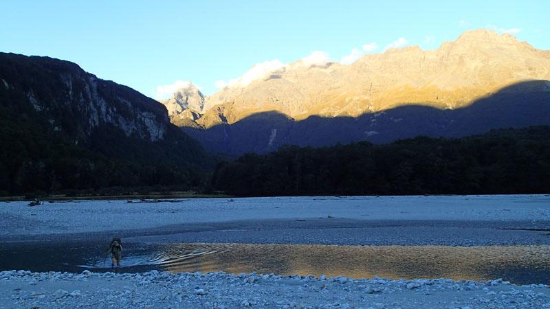 Chinamans Flat, au revoir Dart River