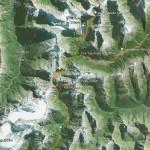 J3-7 Lacs Lucidus et Castalia, Rabbit Pass, Lois Peak (2015m)