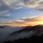 Lever de soleil sur Black Rock campsite (310m)