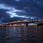 Le pont sur le Waitemata Harbour (42m)