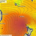 -12H, plus de 7m de houle martèle le Cap Nord