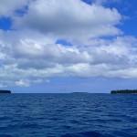 En approche de la baie de Kuto