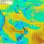 20/06, flux d'Ouest et précipitations sur Nouméa