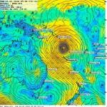 16/02, Oma impacte Vanuatu et prend une trajectoire SW