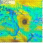 19/02, Oma impacte le Nord de Grande Terre, Wutip se forme par 4°N