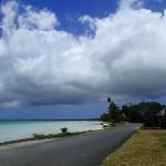 Le long du lagon Nord vers Saint-Joseph