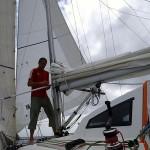 J5, 13/06, 13:00 (UTC+10), papillon tribord amure