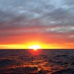 Jour 6, lever de soleil