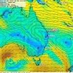 Grib du 08/06, prévision J+4½ du 13/06 à 10:00 (UTC+10)