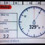 Perte de la température et de la vitesse, profondeur OK !