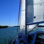 The Narrows sous voiles