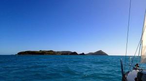 L'Envol en approche de l'ile Curlew