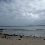Le mouillage à marée basse