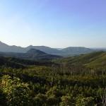 Vue sur le mont Bowen (1121m) ?