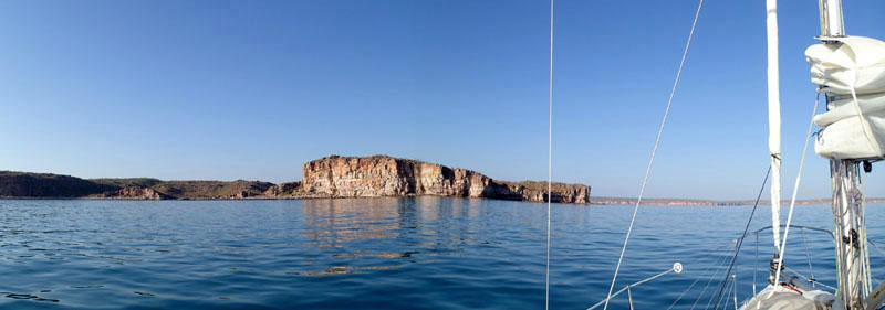 En approche de Koolama Bay