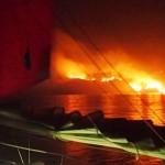 Talbot Bay en feu !