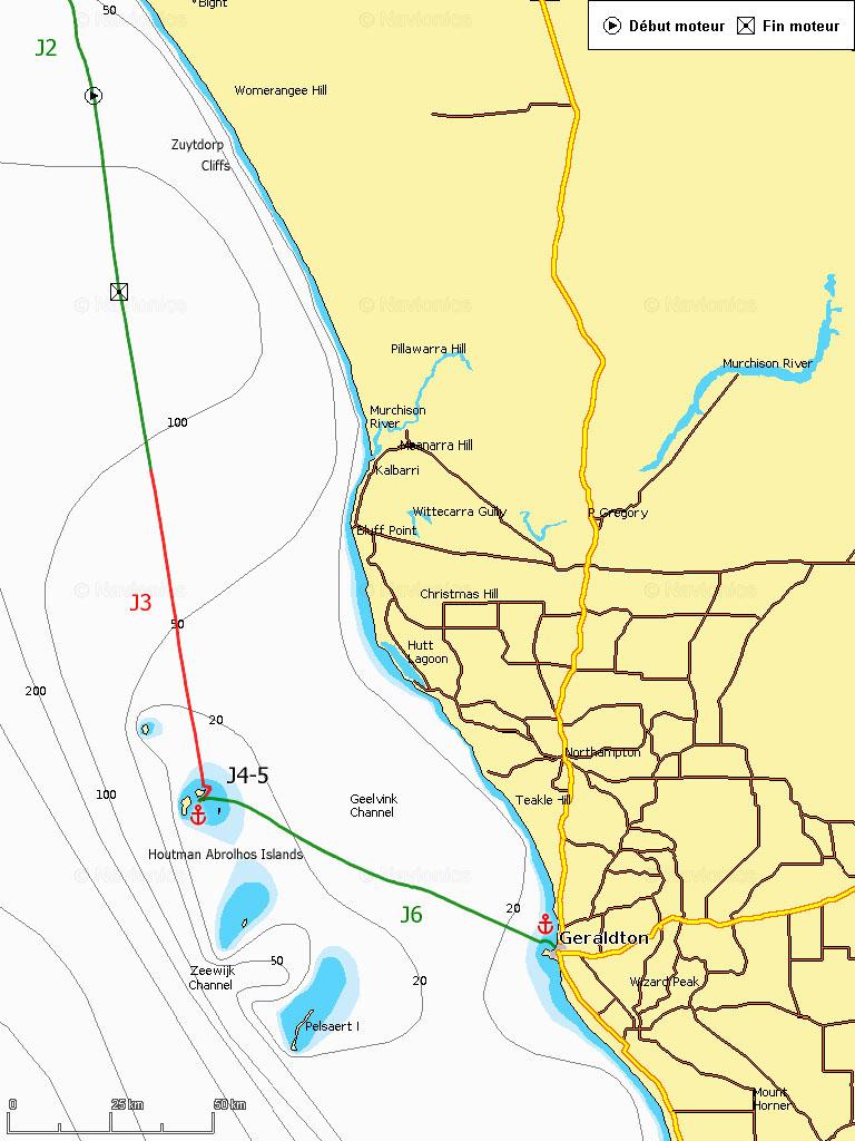 J3-6 Houtman Abrolhos Islands, Geraldton