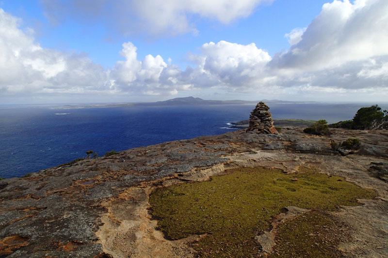 Vue sur le cap Arid depuis le Flinders Peak (165m)