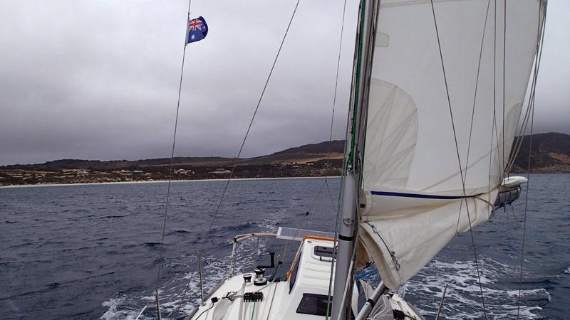 Départ de Whaler's Bay (Thistle Island)