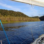 Sur la Gordon River, au Sud du Macquarie Harbour (jour 1)