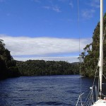 A la voile, toujours plus loin sur la Gordon River (jour 2)