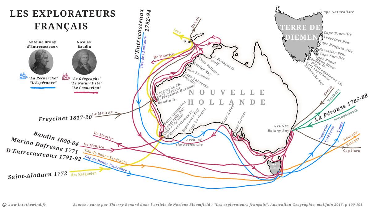 Expéditions françaises en Australie (1771-1820)