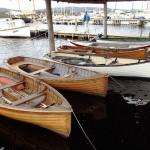 Ouvrages d'art en face du Wooden Boat Centre