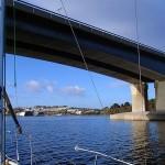 Bowen Bridge entre le Bridgewater et le Tasman Bridge