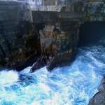 … en dessous de Shipstern Bluff
