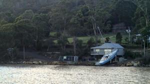 Un bateau du Yacht Club de Taranna en fâcheuse posture