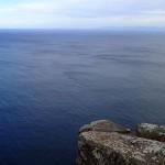 South Bruny Island et tout à D la pyramide de l'Adamsons Peak (1224m)