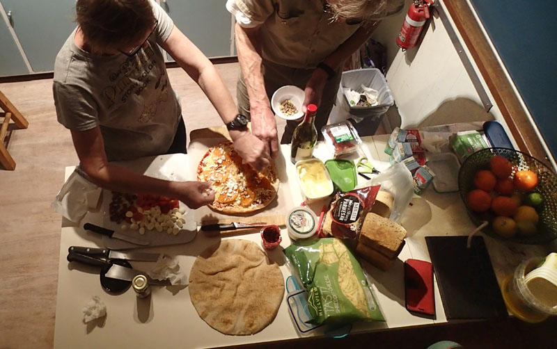 Pizza Night chez Tim et Carol