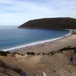 Crescent Bay et Mt Brown (173m)