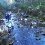 Denmans Creek, point de départ officiel du Three Capes Track