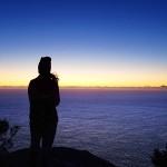 7:10 AM – Lever de soleil sur la Tasman Sea et le cap Pillar (jour 2)