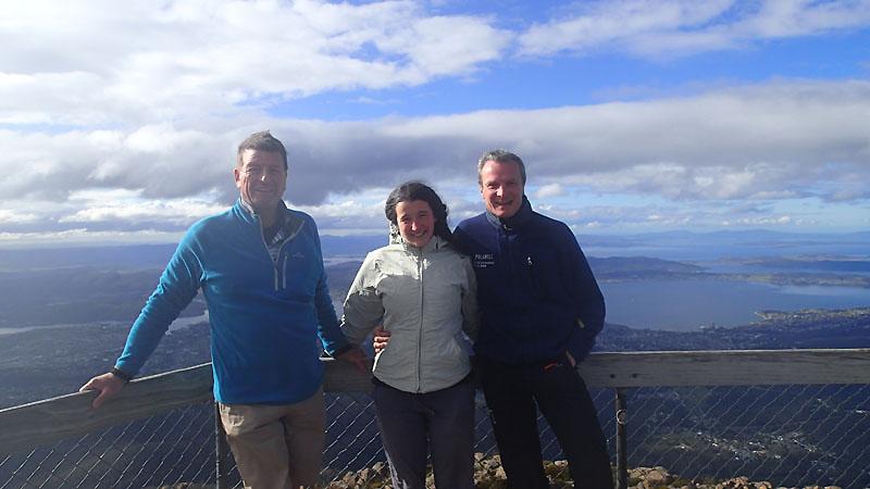 Pieter nous fait découvrir le Mt Wellington (1270m)