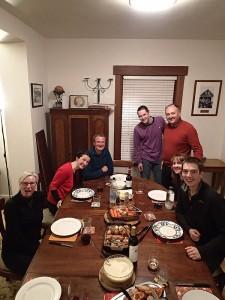 David, Kathryn et leurs enfants, Tom, Ben et Sarah
