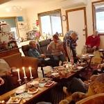 Les festivités pour mes 47 ans chez Tim et Carol