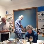 La plonge en compagnie de bien joyeux lurons, Bill et Tim !